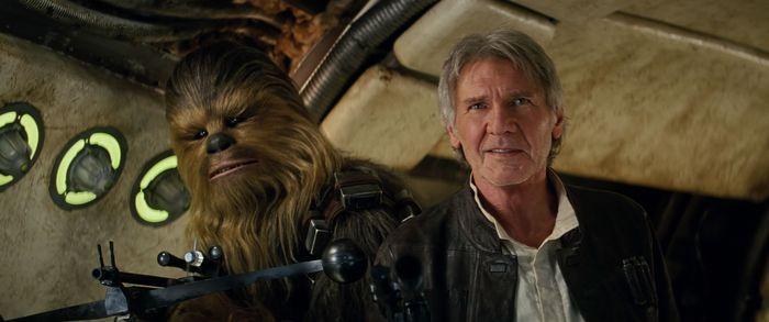Chewbacca i Solo